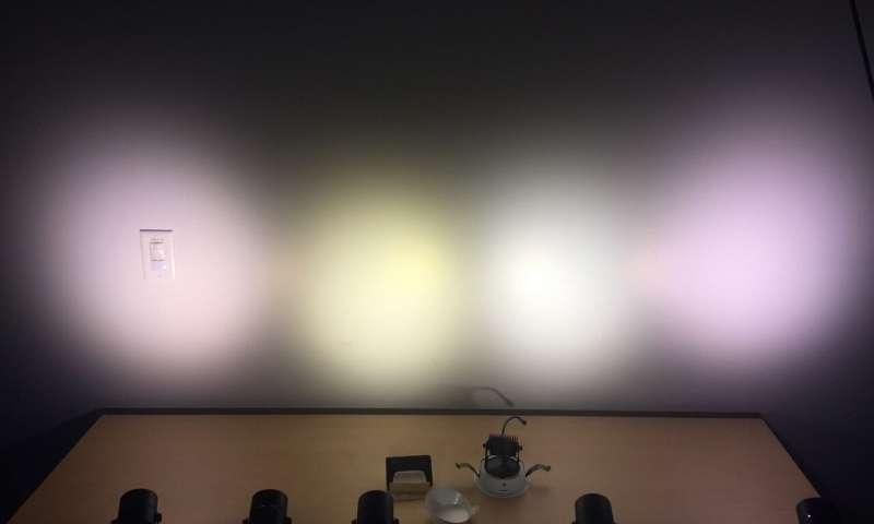 ВОсприятие светодиодного освещения